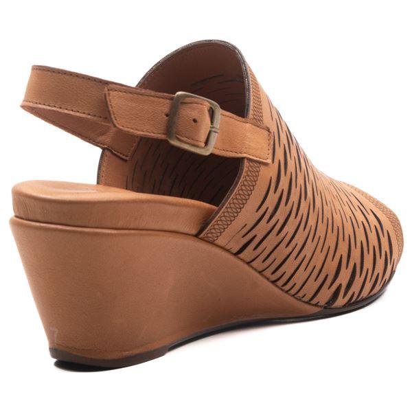 Aspen Kadın Dolgu Topuk Sandalet Taba