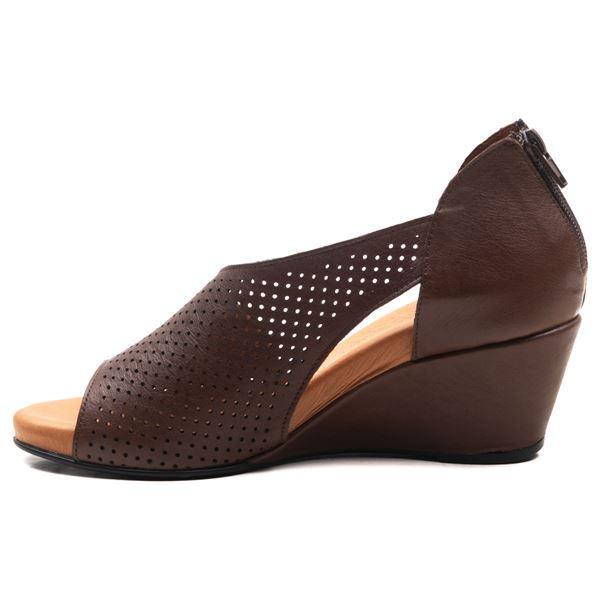 Aurara Kadın Dolgu Topuk Sandalet Kahve