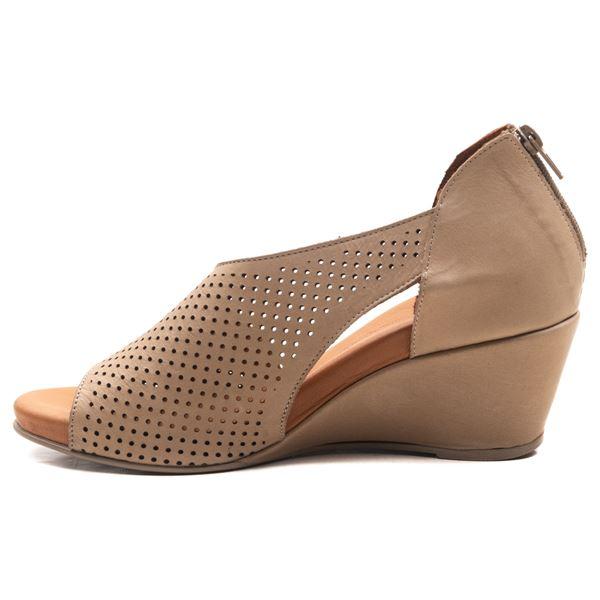 Aurara Kadın Dolgu Topuk Sandalet Kum