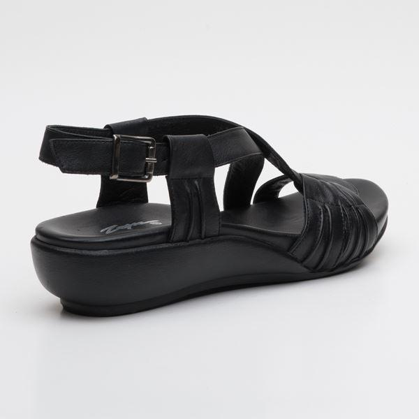 Patrizia Ortopedik Sandalet Siyah