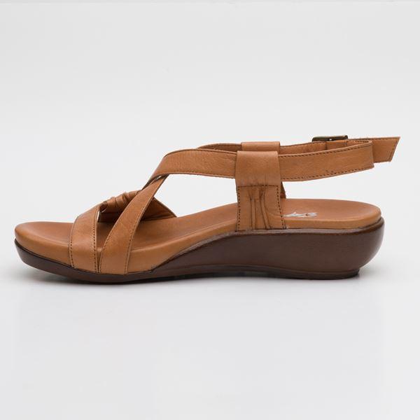 Patrizia Ortopedik Sandalet Taba
