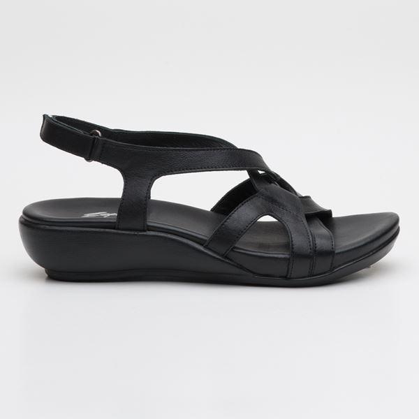 Orfeo Ortopedik Sandalet Siyah