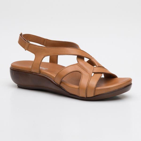 Orfeo Ortopedik Sandalet Taba