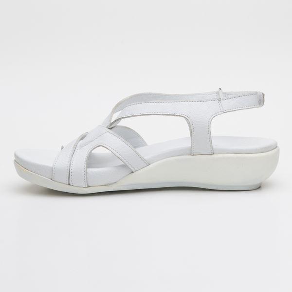 Orfeo Ortopedik Sandalet Beyaz