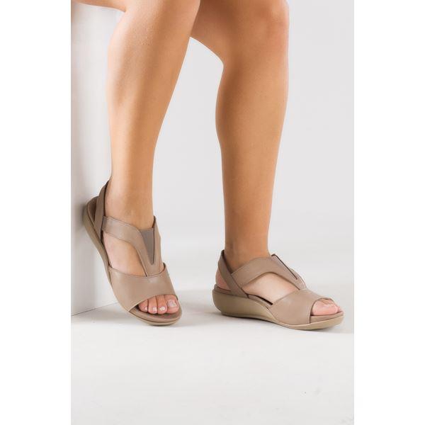 Massima Ortopedik Sandalet Kum