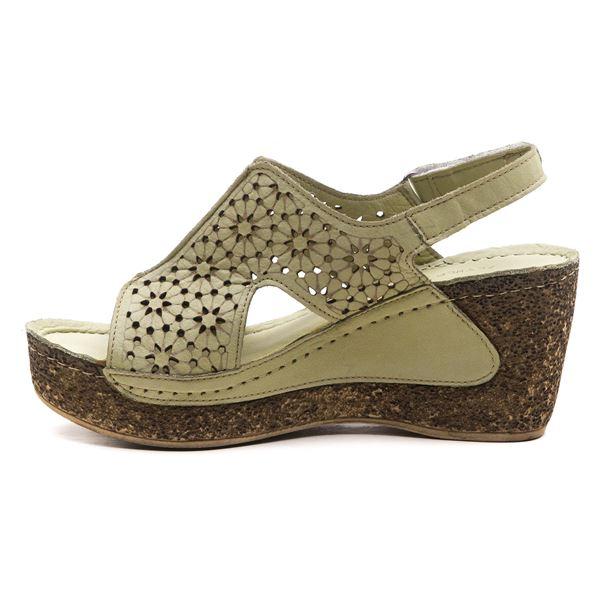Amelia Kadın Dolgu Topuk Sandalet Su yeşili