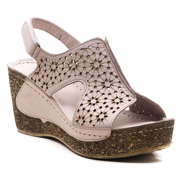 Amelia Kadın Dolgu Topuk Sandalet Buz