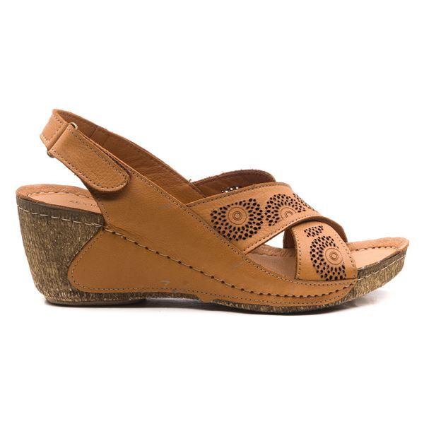 Noah Kadın Dolgu Topuk Sandalet Taba