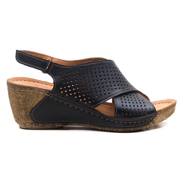 Harry Kadın Dolgu Topuk Sandalet Siyah
