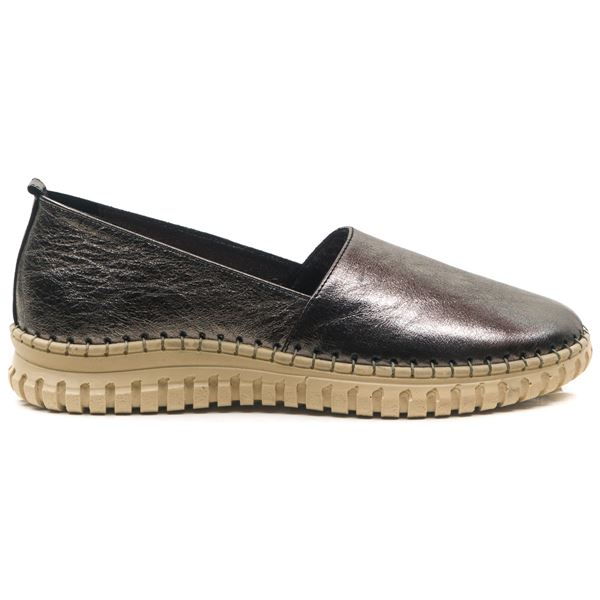 Merida Kadın Deri Ayakkabı Bronz