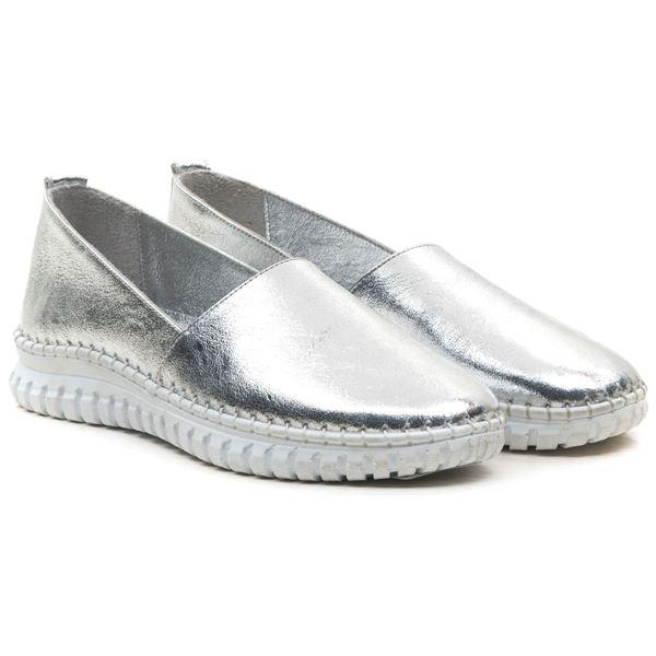 Merida Kadın Deri Ayakkabı Lame