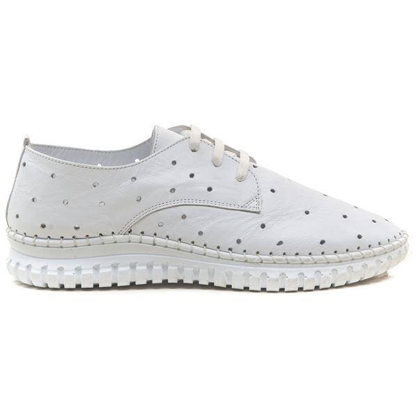 Harisso Kadın Deri Ayakkabı Beyaz