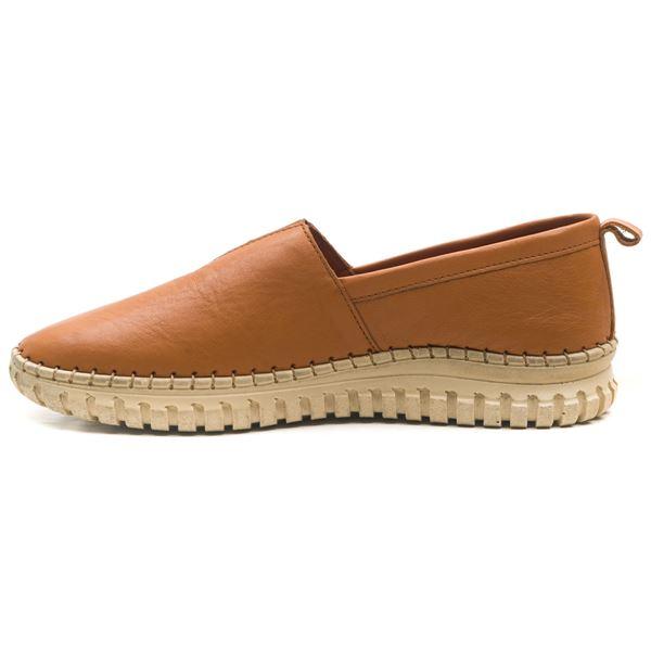 Frozen Kadın Deri Ayakkabı Taba