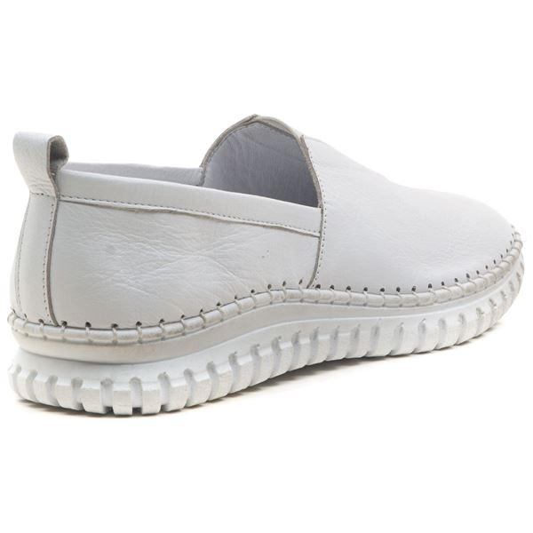 Frozen Kadın Deri Ayakkabı Beyaz