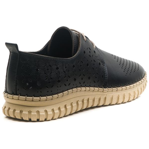 Diesella Kadın Deri Ayakkabı Siyah