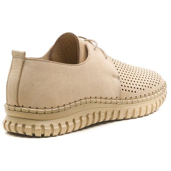 Helena Kadın Deri Ayakkabı Bej