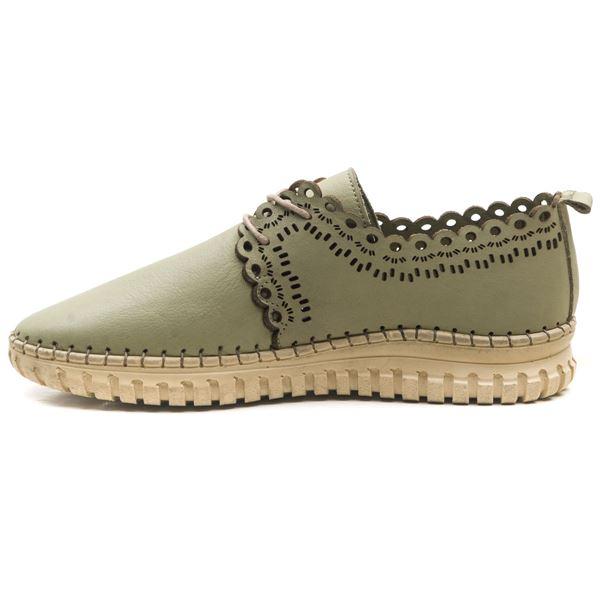 Clematis Kadın Deri Ayakkabı Su Yeşili