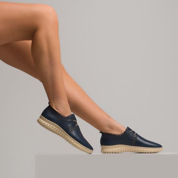 Clematis Kadın Deri Ayakkabı Laci