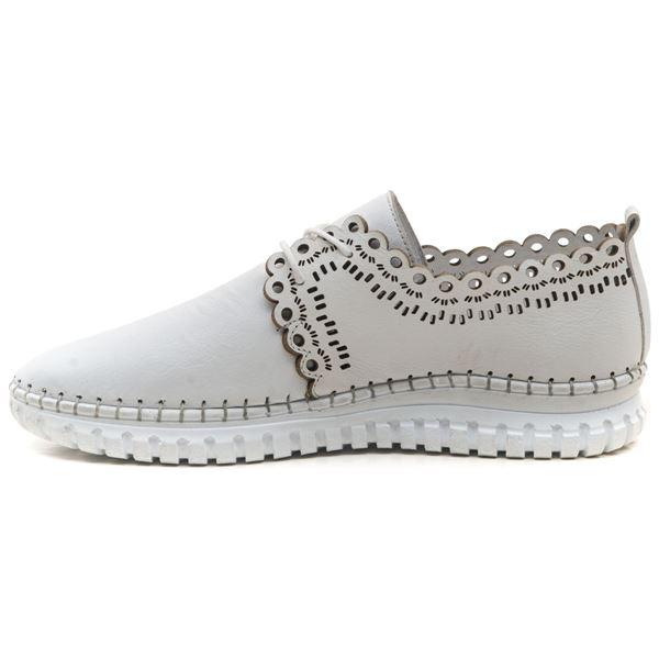 Clematis Kadın Deri Ayakkabı Beyaz